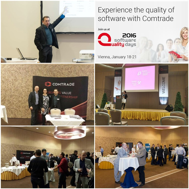 Preview of the SQD 2015 in Vienna. Welcome to visit us again this year!