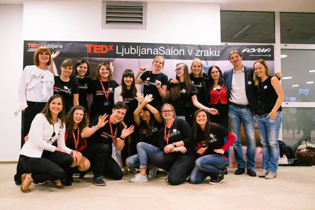 TEDx organizing team & speakers